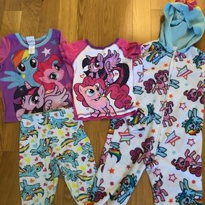 Other - My Little pony pajama sets